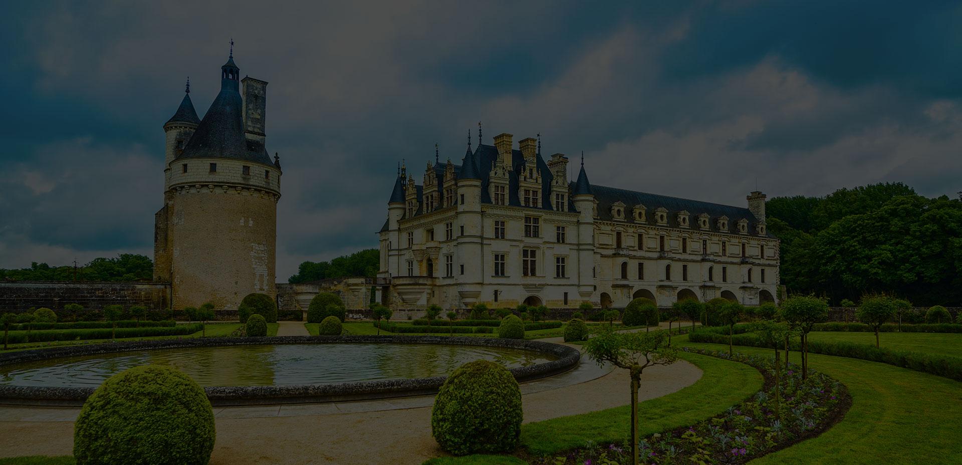 Châteaux jardins et monuments historiques